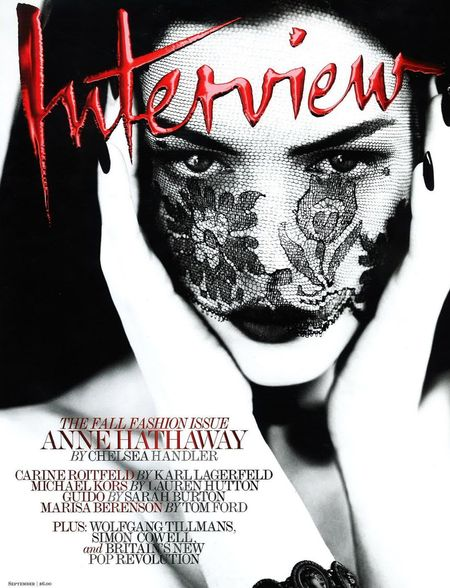 PREVIEW Anne Hathaway for Interview Magazine, September 2011 by Mert & Marcus. www.imageamplified.com, Image Amplified