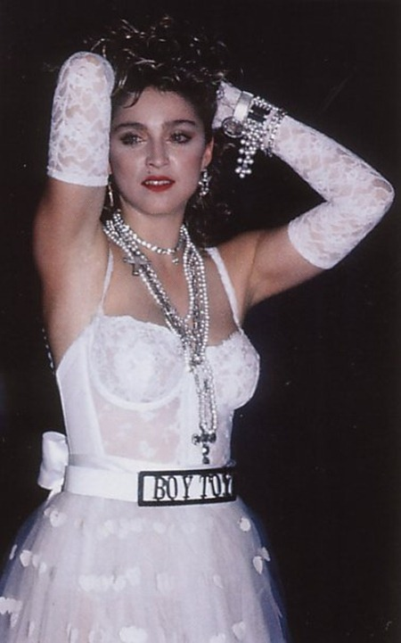 WE ♥ MADONNA Madonna Like a Virgin at the 1984 MTV Video Music Awards. 1984, www.imageamplified.com, Image Amplified (10)