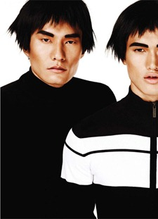 OUT MAGAZINE Eric Thai, Daniel Liu & Melton in Mod Men by Giampaolo Sgura. September 2011, www.imageamplified.com, Image Amplified (9)