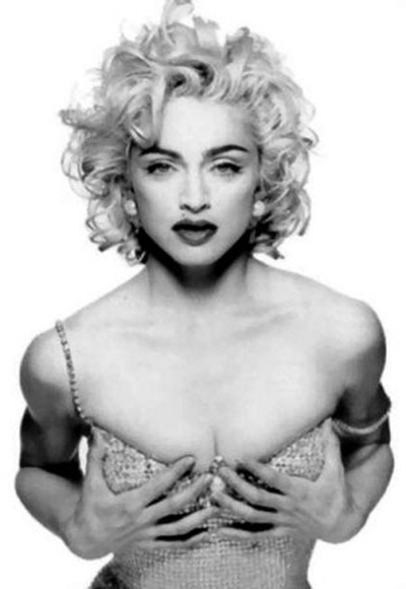 WE ♥ MADONNA Madonna for Glamour Magazine, 1990. 1990, www.imageamplified.com, Image Amplified (1)