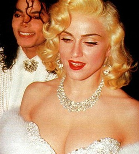 WE ♥ MADONNA Madonna & Michael Jackson at the 1991 Academy Awards. 1991, www.imageamplified.com, Image Amplified (1)