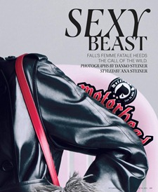 THE NEW YORK TIMES STYLE MAGAZINE Sexy Beast by Danko Steiner. Ana Steiner, Fall 2011, www.imageamplified.com, Image Amplified (2)