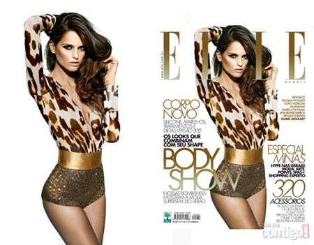PREVIEW Anna Beatriz Barros, Isabeli Fontana, Izabel Goulart & Renata Kuerten on Elle Brazil, September 2011. www.imageamplified.com, Image Amplified (4)