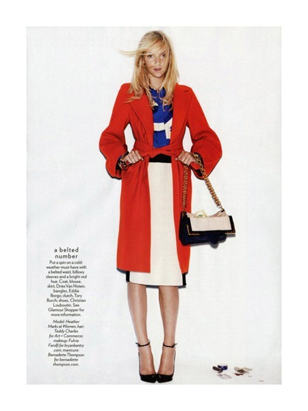 GLAMOUR MAGAZINE Heather Marks in Coat Check by Nicolas Moore. Anne Christensen, October 2011, www.imageamplified.com, Image Amplified (6)