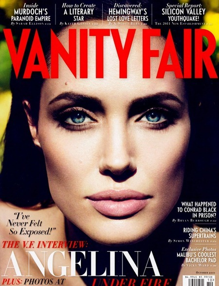 VANITY FAIR MAGAZINE Angelina Jolie in Direct from Angelina by Mert & Marcus. October 2011, www.imageamplified.com, Image Amplified (4)