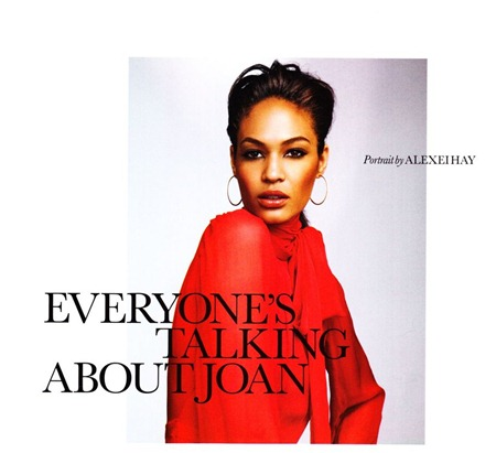 ELLE UK Joan Smalls in Everyone's Talking About Joan by Alexei Hay. Anne-Marie Curtis, October 2011, www.imageamplified.com, Image Amplified (1)