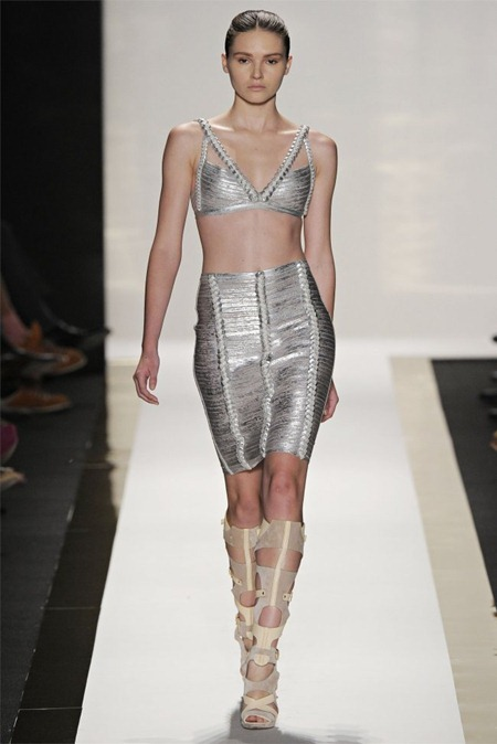 NEW YORK FASHION WEEK Herve Leger by max Azria Spring 2012, www.imageamplified.com, Image Amplified (20)