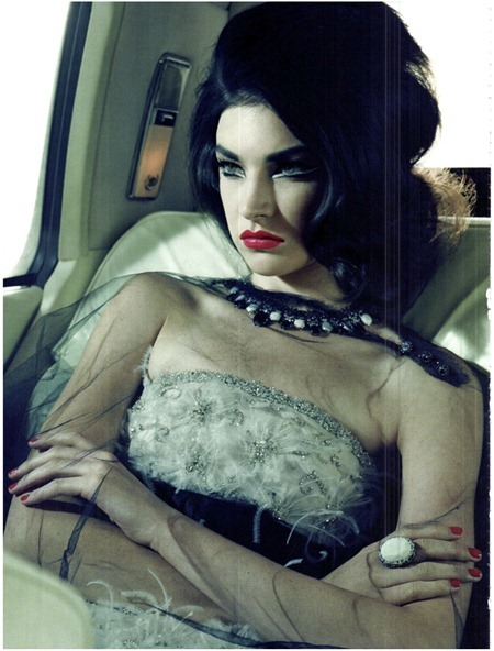 VOGUE ITALIA Jacquelyn Jablonski in Extravagant, Sophisticated Lady by Miles Aldridge. Alice Gentilucci, September 2011, www.imageamplified.com, Image Amplified (18)