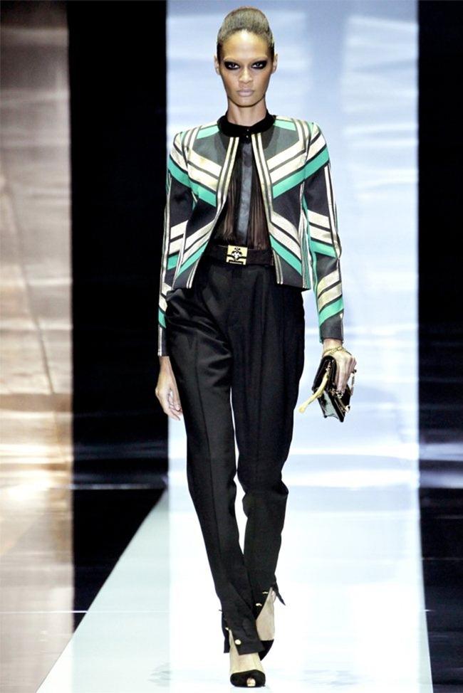 MILAN FASHION WEEK Gucci Spring 2012. www.imageamplified.com, Image Amplified (1)