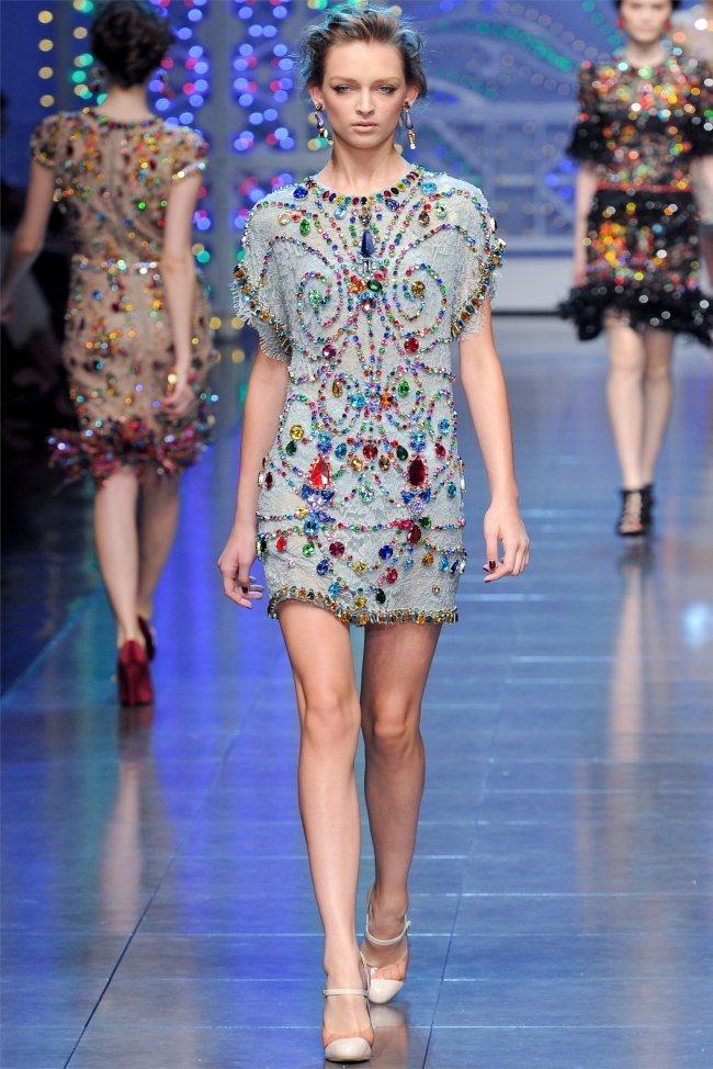 MILAN FASHION WEEK Dolce & Gabbana Spring 2012. www.imageamplified.com, Image Amplified (71)