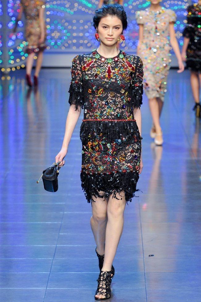 MILAN FASHION WEEK Dolce & Gabbana Spring 2012. www.imageamplified.com, Image Amplified (72)