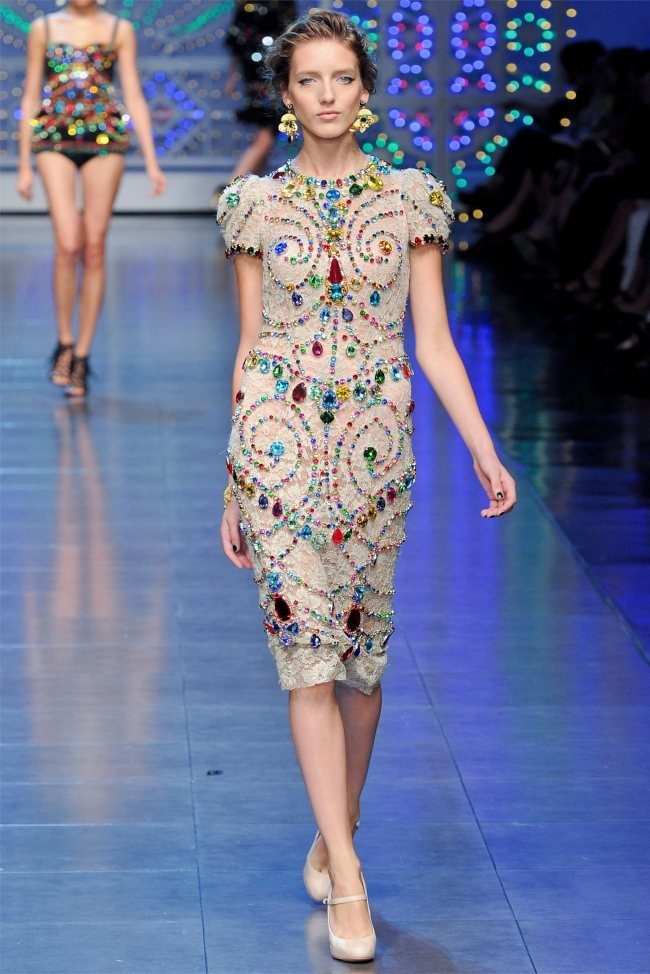 MILAN FASHION WEEK Dolce & Gabbana Spring 2012. www.imageamplified.com, Image Amplified (73)