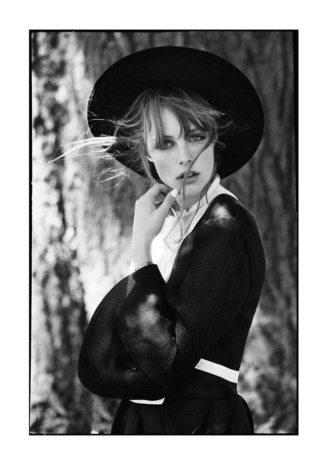 MUSE MAGAZINE Edie Campbell by Tim Barber. Fall 2011, Susan Winget, www.imageamplified.com, Image Amplified (1)