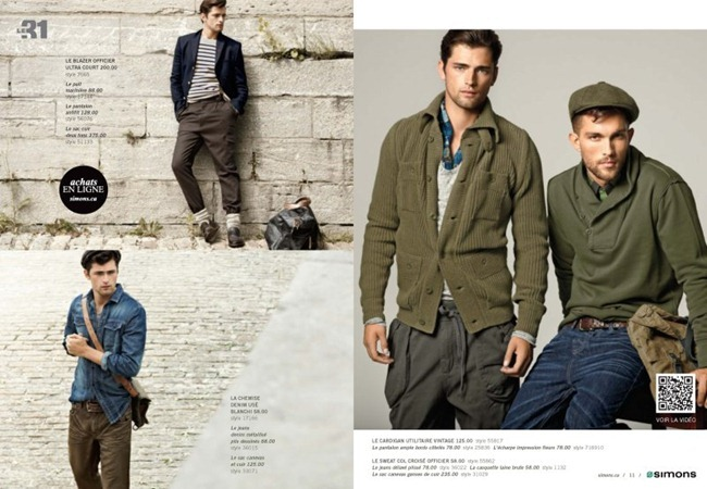 CAMPAIGN Sean O'Pry & Tobias Sørensen for Simons Fall 2011. www.imageamplified.com, Image Amplified (6)