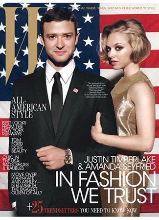 W MAGAZINE Justin Timberlake & Amanda Seyfried by Michael Thompson. October 2011, www.imageamplified.com, Image Amplified (1)