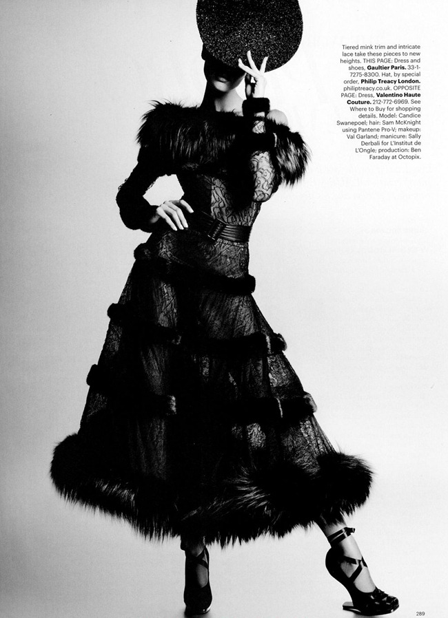 HARPER'S BAZAAR MAGAZINE Candice Swanepoel in Couture Couture by Karl Lagerfeld. Andrew Richardson, October 2011, www.imageamplified.com, Image Amplified (7)