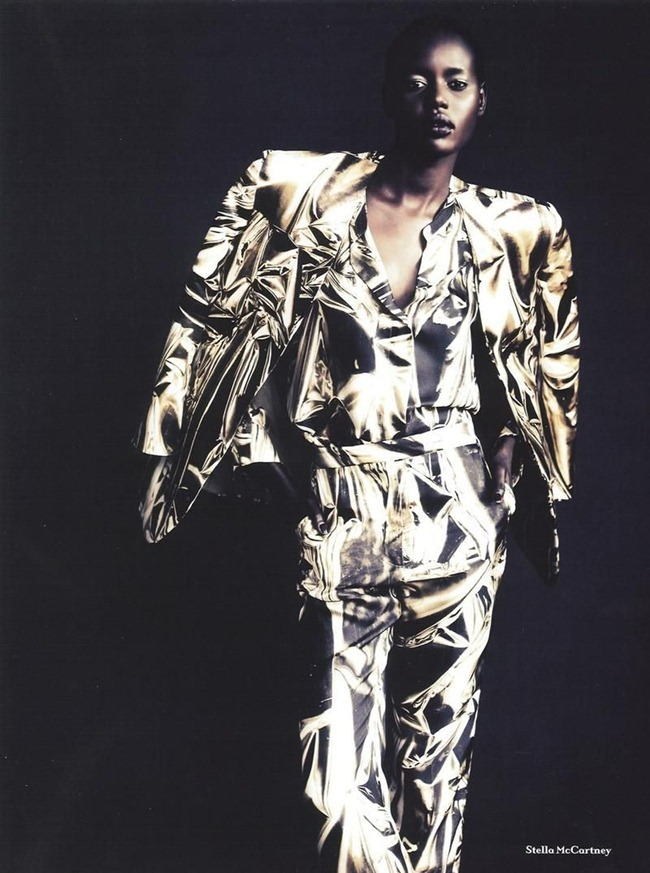 ANOTHER MAGAZINE Ajak Deng by Paolo Roversi. Cathy Edwards, Fall 2011, www.imageamplified.com, Image Amplified (6)