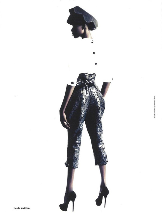 ANOTHER MAGAZINE Ajak Deng by Paolo Roversi. Cathy Edwards, Fall 2011, www.imageamplified.com, Image Amplified (8)
