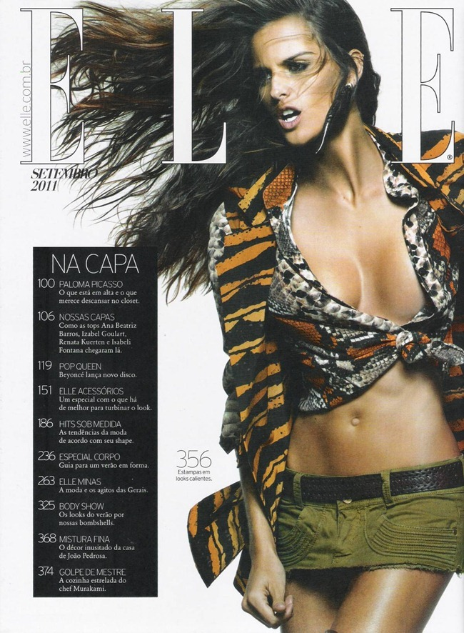 ELLE BRAZIL Izabel Goulart in Savage Beauty by Gui Paganini. Susan Barbosa, September 2011, www.imageamplified.com, Image Amplified (1)