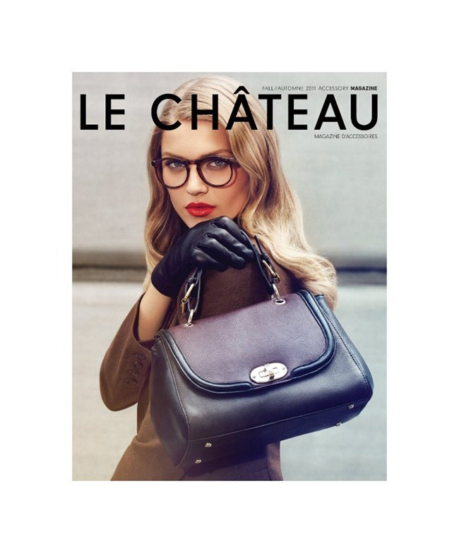 CAMPAIGN Anna Jagodzinska for Le Château Fall 2011 by Max Abadian. Julie Matos, www.imageamplified.com, Image Amplified (8)