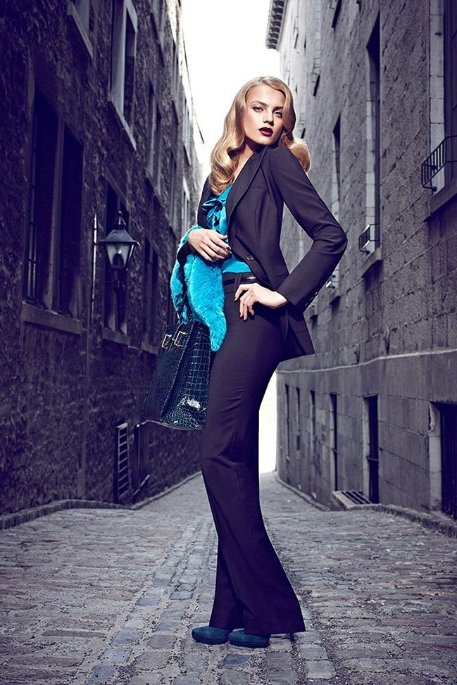 CAMPAIGN Anna Jagodzinska for Le Château Fall 2011 by Max Abadian. Julie Matos, www.imageamplified.com, Image Amplified (4)