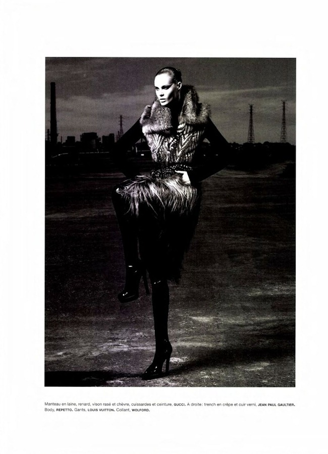 NUMERO MAGAZINE Juju Ivanyuk in L'aigle Noir by Robbie Fimmano. Charles Varenne, www.imageamplified.com, Image Amplified (8)