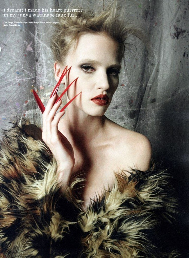 I-D MAGAZINE Lara Stone by David Bailey. Charlotte Stockdale, Fall 2011, www.imageamplified.com, Image Amplified (7)