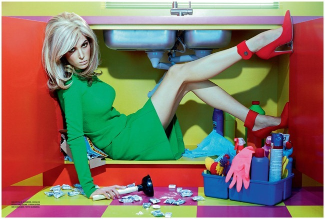 VOGUE ITALIA Ruby Aldridge in Home Chic by Miles Aldridge. Cathy Kosterine, October 2011, www.imageamplified.com, Image Amplified (3)