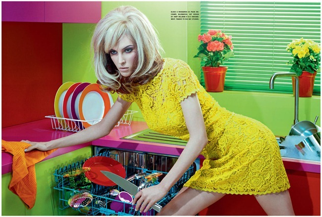 VOGUE ITALIA Ruby Aldridge in Home Chic by Miles Aldridge. Cathy Kosterine, October 2011, www.imageamplified.com, Image Amplified (2)