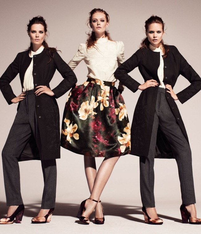 CAMPAIGN Frida Gustavsson & Caroline Brasch Nielsen for H&M Conscious Fall 2011. www.imageamplified.com, Image Amplified (2)