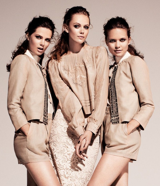 CAMPAIGN Frida Gustavsson & Caroline Brasch Nielsen for H&M Conscious Fall 2011. www.imageamplified.com, Image Amplified (5)