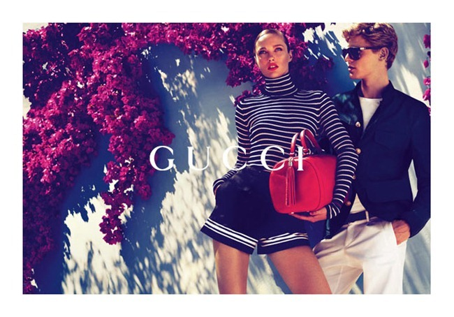 CAMPAIGN karmen Pedaru & Lenz von Johnston for Gucci Cruise 2012 by Mert & Marcus. www.imageamplified.com, Image Amplified (3)