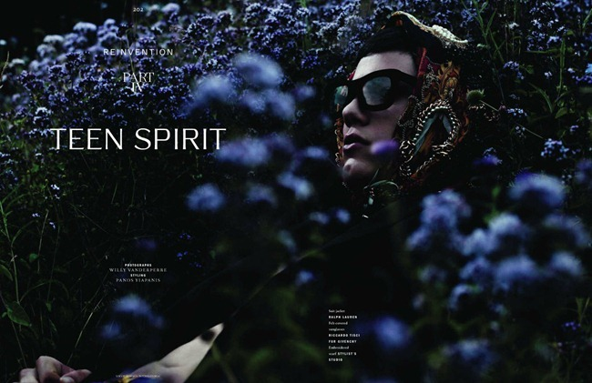 VOGUE HOMME INTERNATIONAL Simone Nobili in Teen Spirit by Willy Vanderperre. Panos Yiapanis, Fall 2011, www.imageamplified.com, Image Amplified (2)
