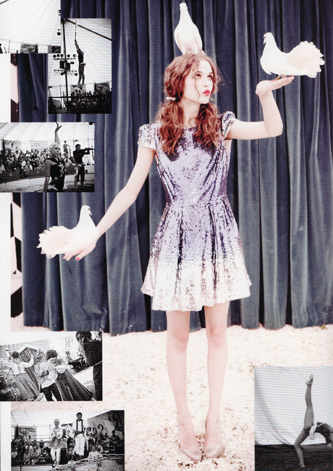 LULA MAGAZINE Rasa Zukauskaite in Magical Mystery Tour by Ellen von Unwerth. Leith Clark, Fall 2011, www.imageamplified.com, Image Amplified (5)