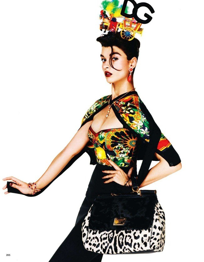 VOGUE JAPAN- Crystal Renn in &%Mi Vida Logo&% by Giampaolo Sgura. Anna Dello Russo, November 2011, www.imageamplified.com, Image Amplified2