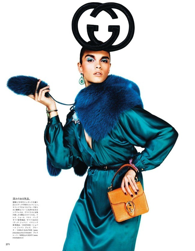 VOGUE JAPAN- Crystal Renn in &%Mi Vida Logo&% by Giampaolo Sgura. Anna Dello Russo, November 2011, www.imageamplified.com, Image Amplified8