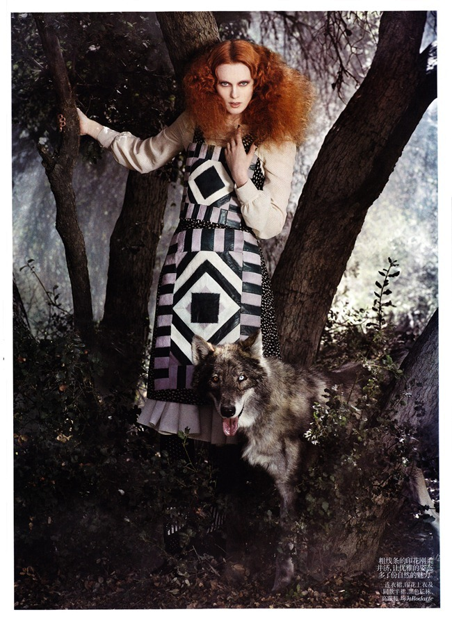 VOGUE CHINA- Karen Elson in &%Exotic Adventure&% by Mark Segal. Tabitha Simmons, November 2011, www.imageamplified.com, Image Amplified8