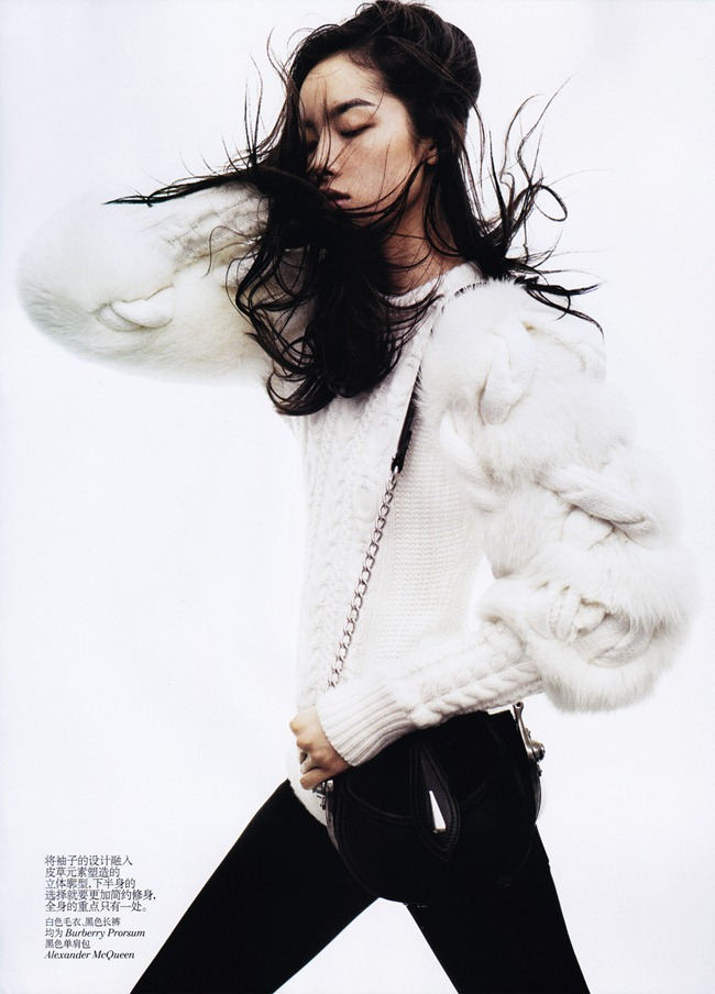 VOGUE CHINA- Fei Fei Sun in &%Black & White&% by Josh Olins. Alastair McKim, November 2011, www.imageamplified.com, Image Amplified4