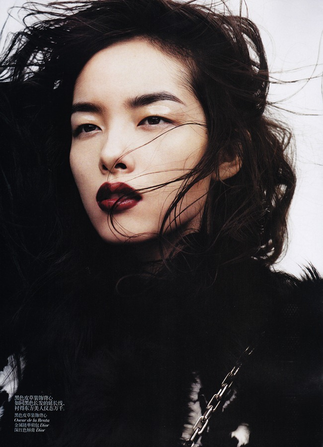 VOGUE CHINA- Fei Fei Sun in &%Black & White&% by Josh Olins. Alastair McKim, November 2011, www.imageamplified.com, Image Amplified9