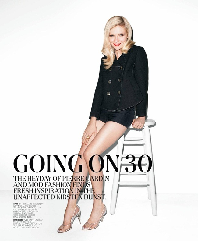 T STYLE MAGAZINE- Kirsten Dunst in &%Sixties Going on 30&% by Terry Richardson. Sarah Moonves, Fall 2011, www.imageamplified.com, Image Amplified4