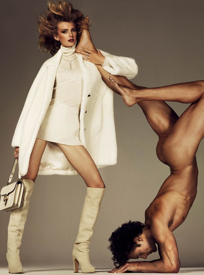 ANTIDOTE MAGAZINE- Sigrid Agren & Parker Gregory in &%Beauty & the Beast&% by Giampaolo Sgura. Fall 2011, Yann Weber, www.imageamplified.com, Image Amplified6