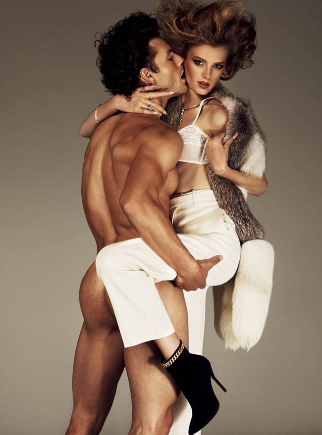 ANTIDOTE MAGAZINE- Sigrid Agren & Parker Gregory in &%Beauty & the Beast&% by Giampaolo Sgura. Fall 2011, Yann Weber, www.imageamplified.com, Image Amplified8