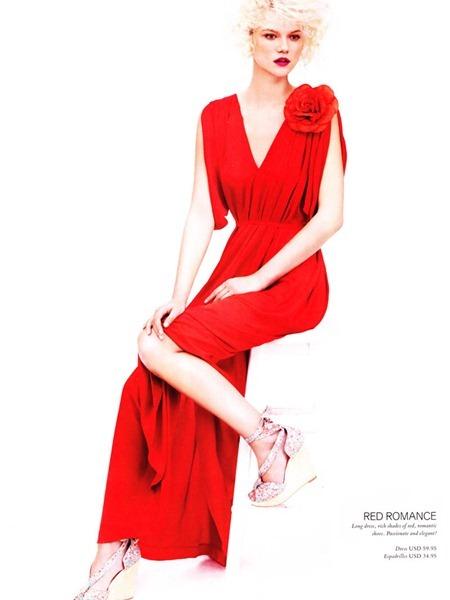 H&M MAGAZINE Kasia Struss by Josh Olins. Spring 2011, Ludivine Poiblanc, www.imageamplified.com, Image Amplified (1)