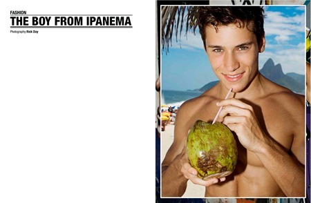 GEIL MAGAZINE Renato Ferreira in the Boy From Ipanema by Rick Day. Spring Summer 2011, www.imageamplified.com, Image Amplified (1)