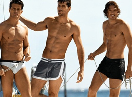 34abf48964 CAMPAIGN Diego Miguel, Mihaly Martins & Alexis Papas for Calzedonia Uomo  Summer 2011 by Dean