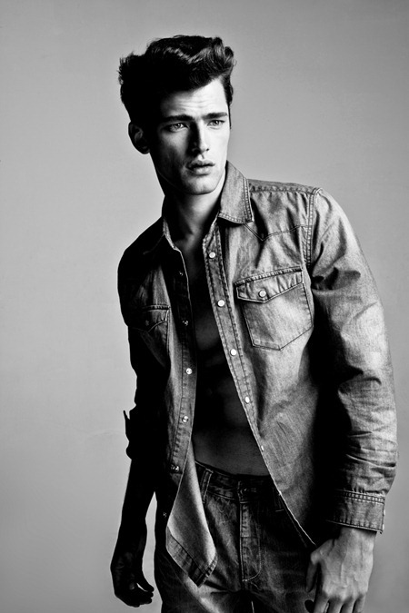 CAMPAIGN Sean O'Pry for MJeans Spring Summer 2011. www.imageamplified.com, Image Amplified (7)