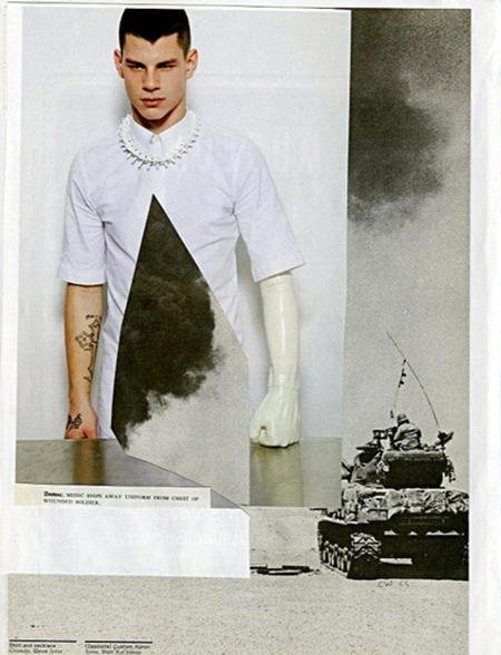 ARENA HOMME MAGAZINE Dmitry Tanner & Chris Wetmore in Museum by Collier Schorr. www.imageamplified.com, Image Amplified (1)