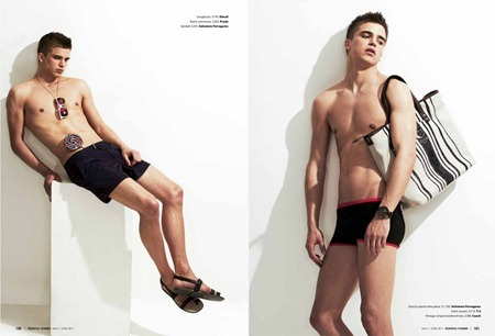 ESSENTIAL HOMME River Viiperi in Boy of Summer by A.P. Kim. May 2011, www.imageamplified.com, Image Amplified (4)