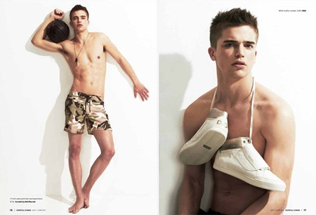 ESSENTIAL HOMME River Viiperi in Boy of Summer by A.P. Kim. May 2011, www.imageamplified.com, Image Amplified (1)