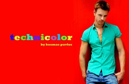 FASHION PHOTOGRAPHY Martin Pichler in Technicolor by Kosmas Pavlos. www.imageamplified.com, Image Amplified (6)